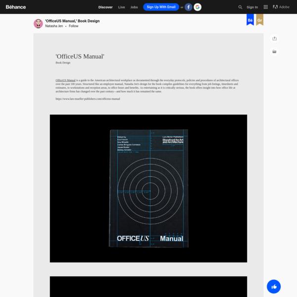 'OfficeUS Manual,' Book Design