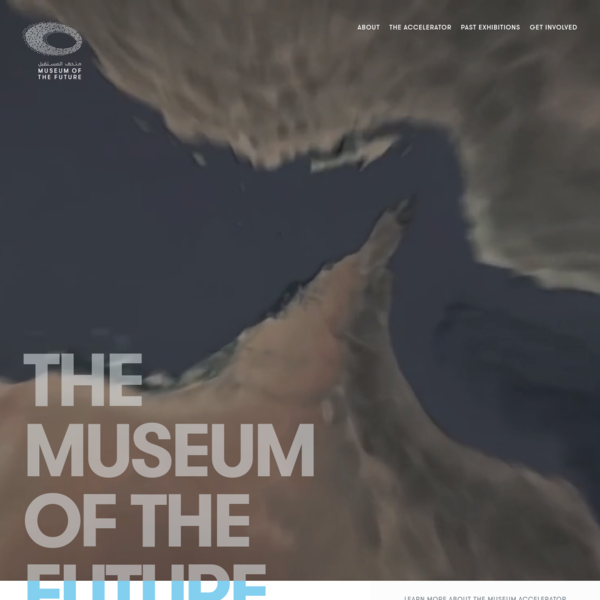 The Museum Of The Future | Home