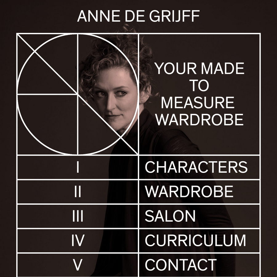 I see garments as part of a line, a line that I'm trying to rearrange and interrupt until unexpected grades and new shapes appear. Anne de Grijff, fashion desig