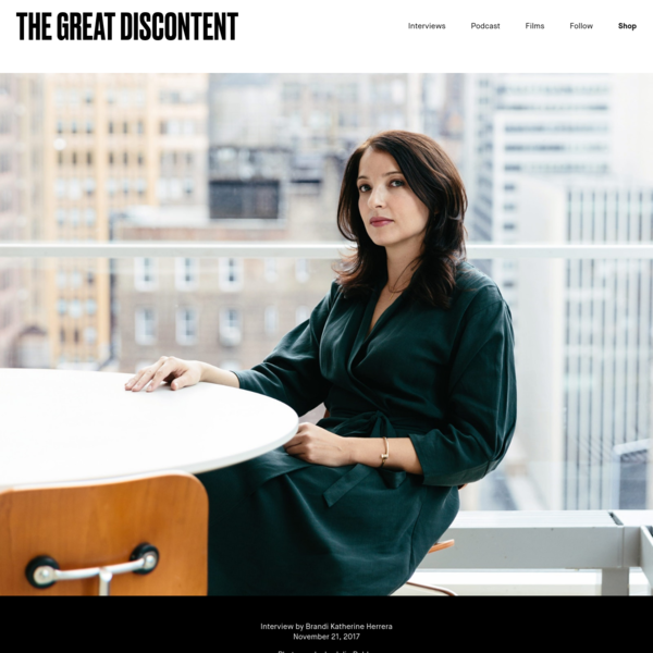 Gail Bichler on The Great Discontent (TGD)