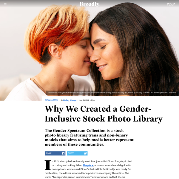 Why We Created a Gender-Inclusive Stock Photo Library