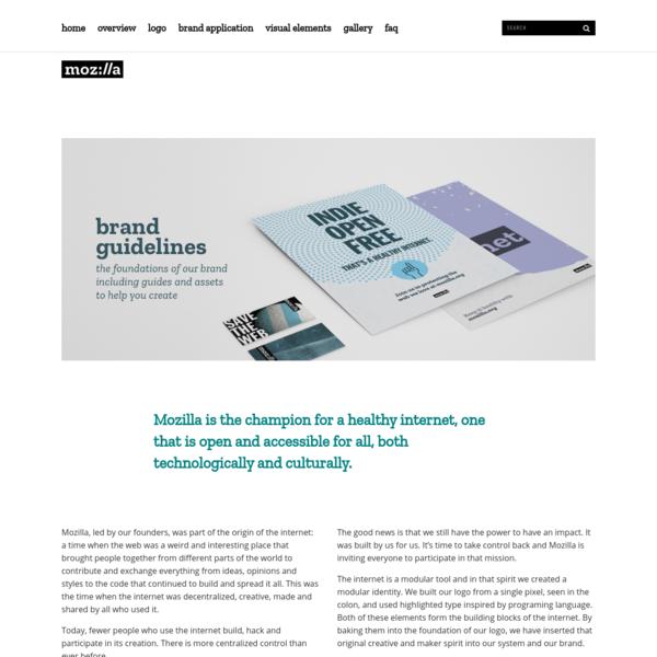 Overview - Mozilla Design Language