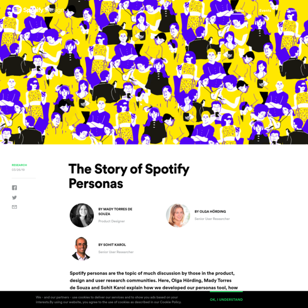 Are na / The Story of Spotify Personas