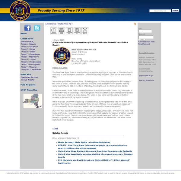 Clinton Correctional Facility Inmate Search
