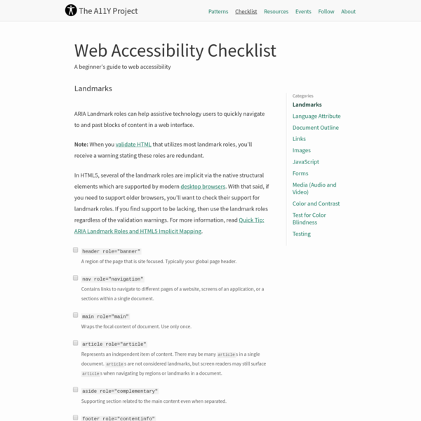 A beginner's guide to web accessibility