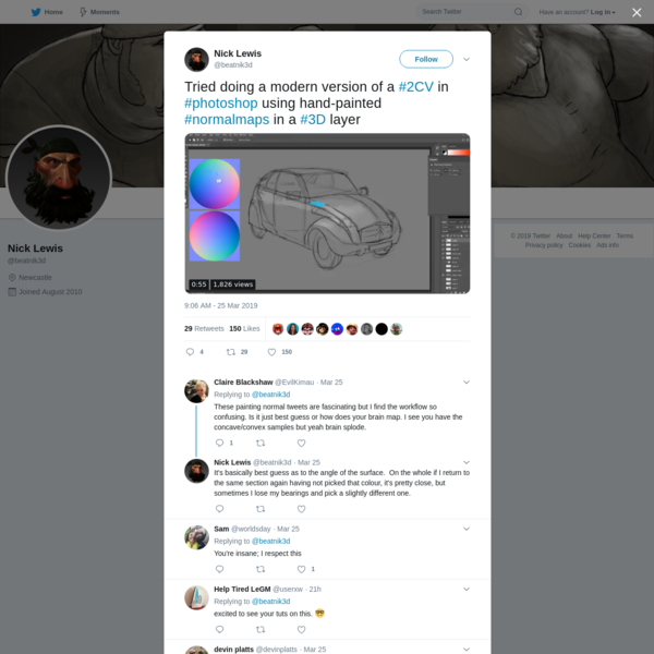Nick Lewis on Twitter