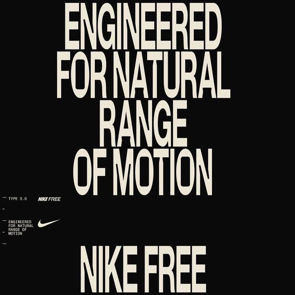 0798 - Repost @m35_design - The first teasers for the all new Nike FREE running shoe launched today. For the last three mont...