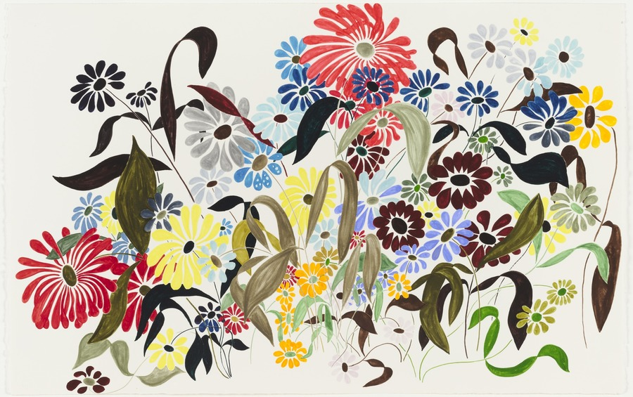 Charles Ray, Untitled, Flower Drawing, 2003