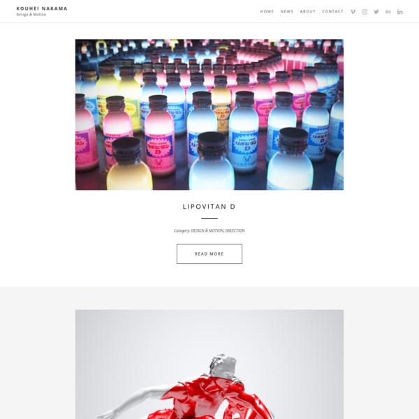 Kouhei Nakama | Design & Motion