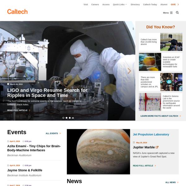 Home | www.caltech.edu