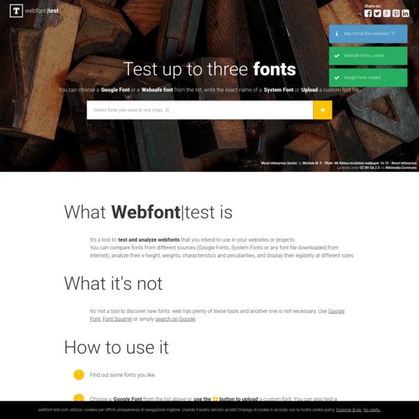 webfont|test