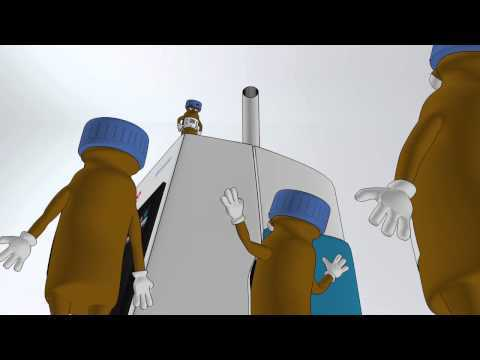 Animation of Thermo Scientific Virtuoso Vial Identification System