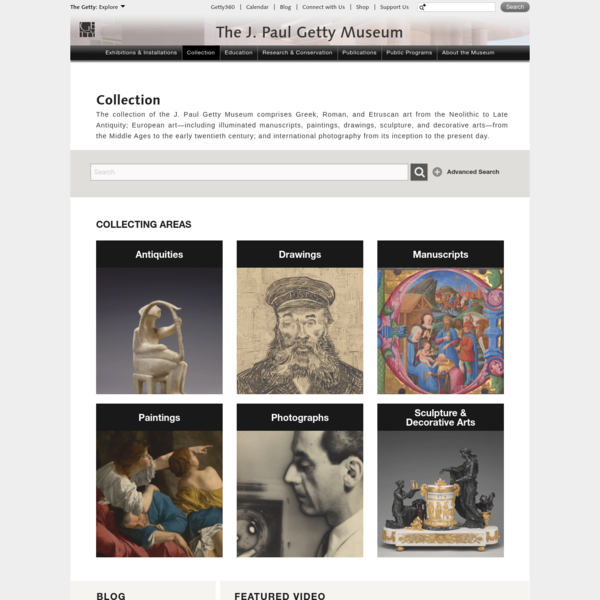 Collection (Getty Museum)