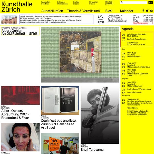 Kunsthalle Zürich