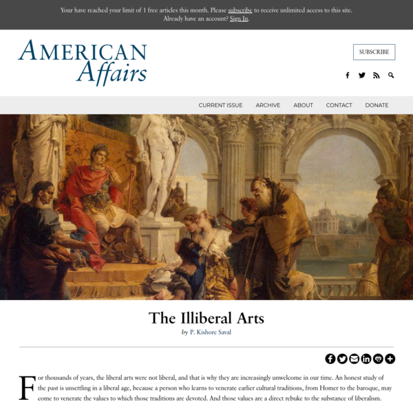 The illiberal arts