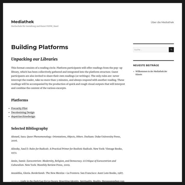 Building Platforms