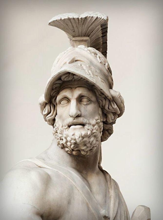 Head of Menelaos