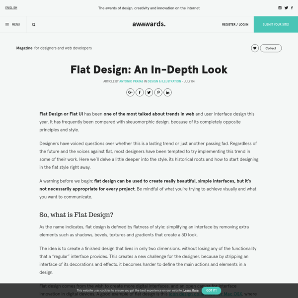 Flat Design: An In-Depth Look