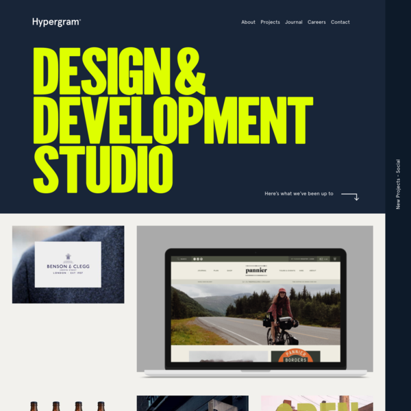 Leeds | Web Design | Brand Design Agency / Hypergram