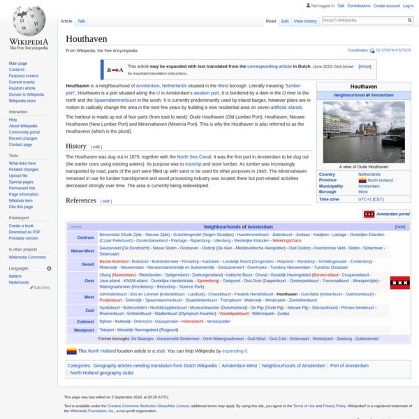 Houthaven - Wikipedia