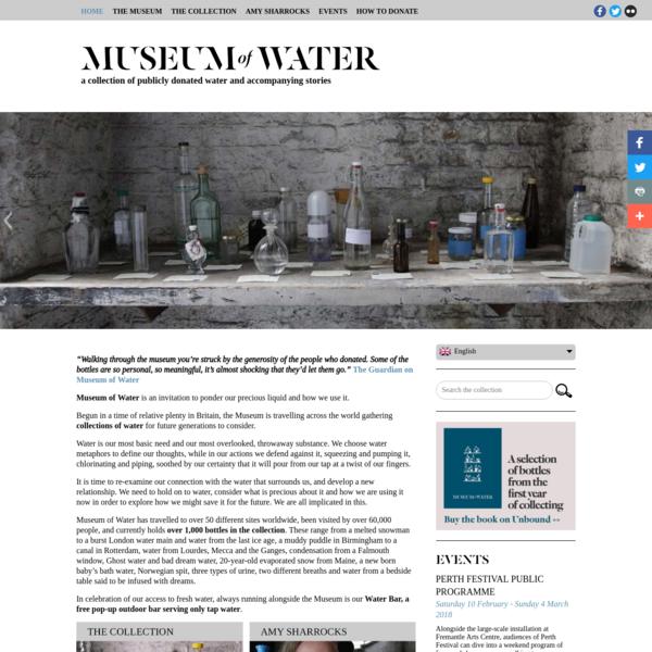 Museum of Water by Amy Sharrocks, London UK