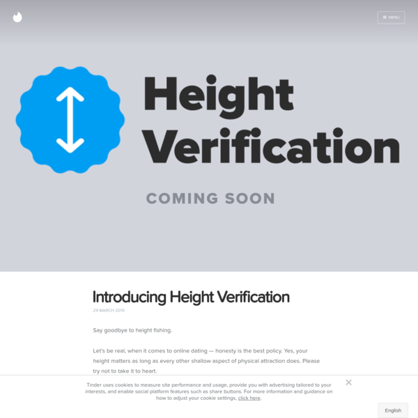 Introducing Height Verification