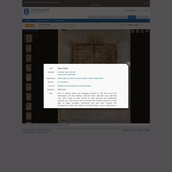 Book of Kells  - Version Facsímil