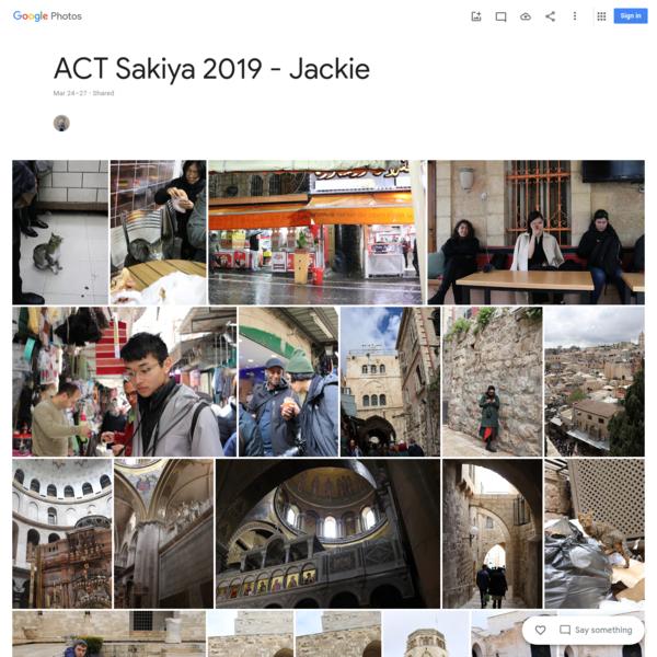 ACT Sakiya 2019 - Jackie