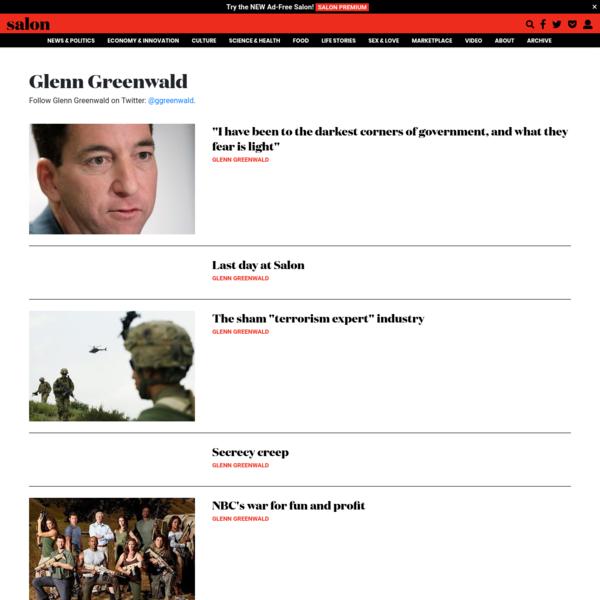 Salon.com | News, Politics, Business, Technology & Culture