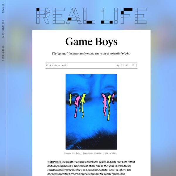 Game Boys - Real Life