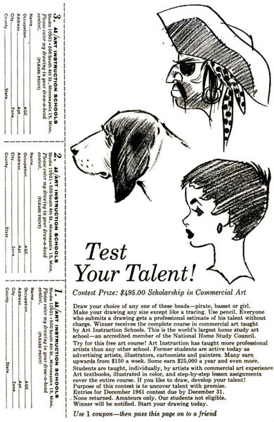 Test Your Talent!