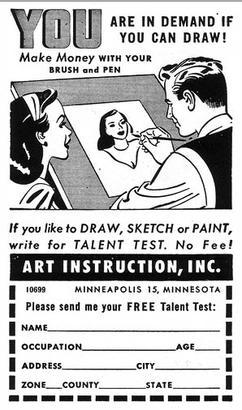 You are in demand if you can draw!