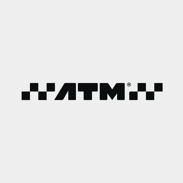 Alternative lock-up of the ATM logo for use on vehicles and uniforms.