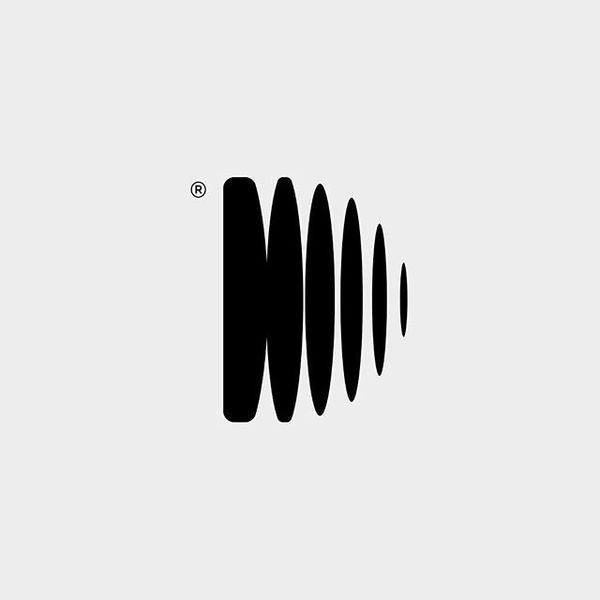 Symbol for Dubset Media, a music technology company. It combines a monogram with a sound wave graphic. Shortly after we comp...