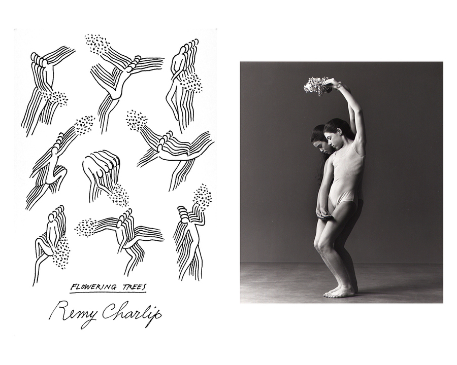 Remy Charlip, Flowering Trees, Air Mail Dances, 1971 - 198?
