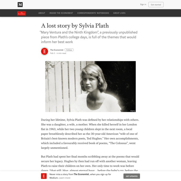 A lost story by Sylvia Plath