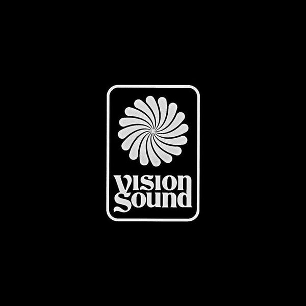 Vision Sound logo for @silentaddy + @apedrums