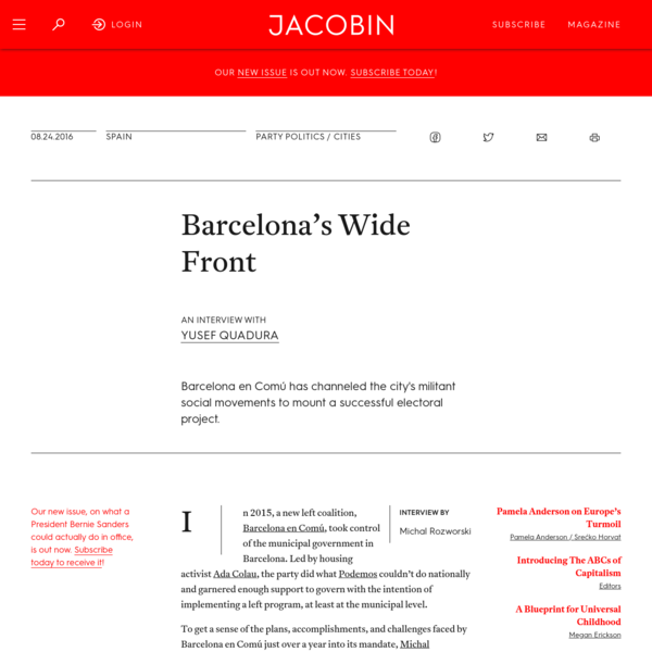 Barcelona's Wide Front
