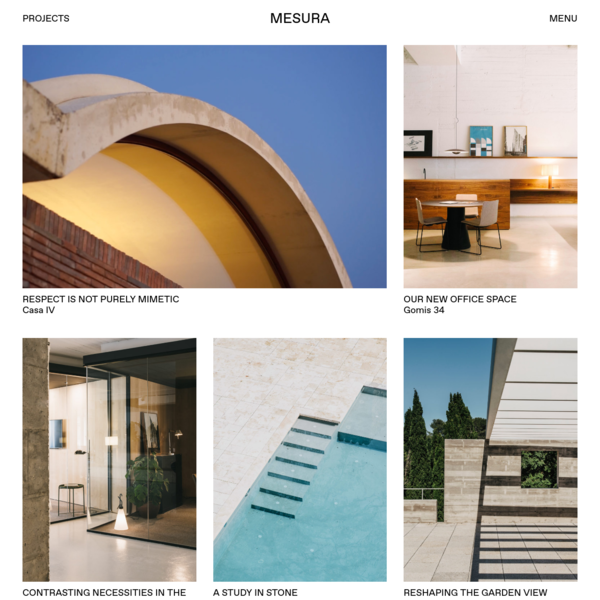 Mesura - Projects