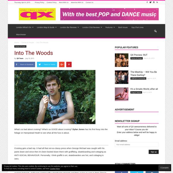 Into The Woods - QX Magazine