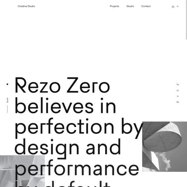 Rezo Zero * Creative Studio