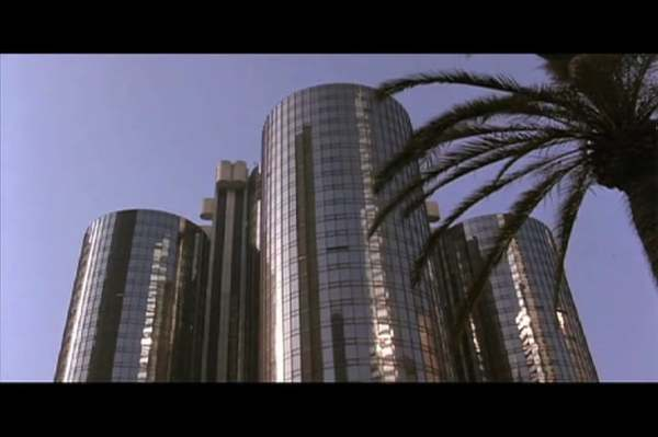 Los Angeles, the City in Cinema: the Bonaventure Hotel
