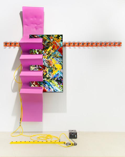 2015.06 Borna Sammak : Art Basel, CH, Powermad Dude, 2015