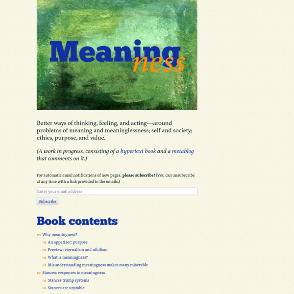 Meaningness