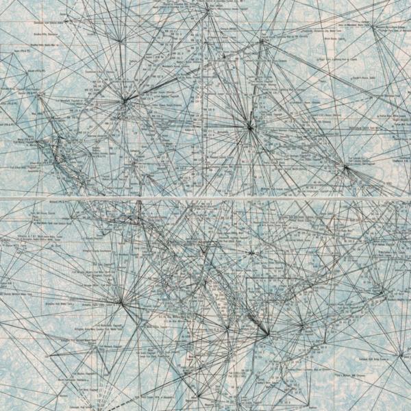 Triangulation diagram, vicinity of Washington, D.C. : August 1966.