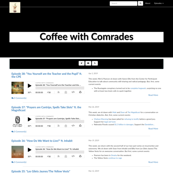 Coffee with Comrades