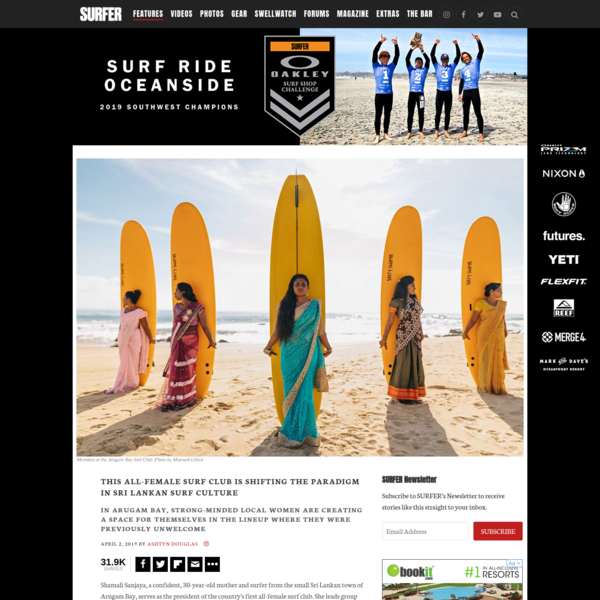 This All-Female Surf Club is Shifting the Paradigm in Sri Lankan Surf Culture