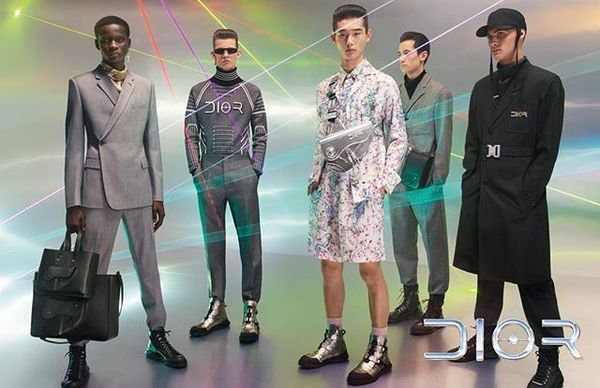 REAL LIFE AVATARS 🖤@DIOR MEN FALL 19 CAMPAIGN 🖤 . Photo Steven Meisel / Art direction @ronnie.cooke.newhouse / Styling @them...