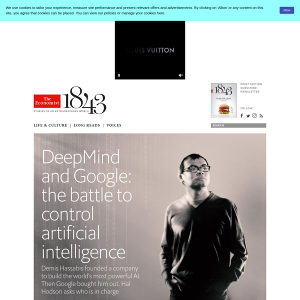 DeepMind and Google: the battle to control artificial intelligence