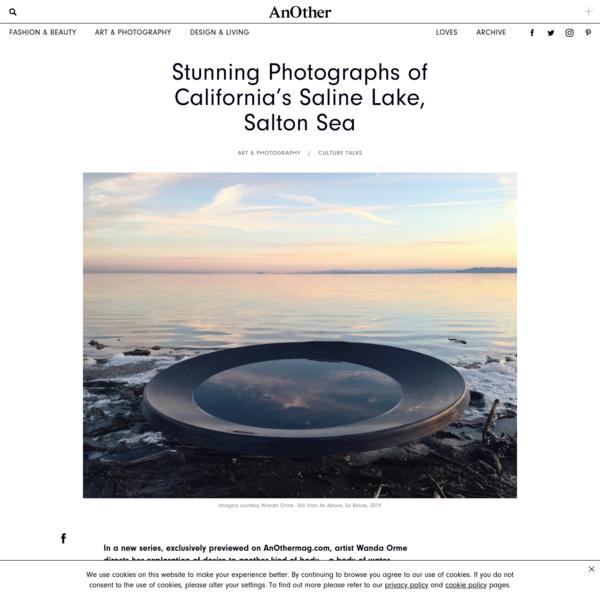 Stunning Photographs of California's Saline Lake, Salton Sea